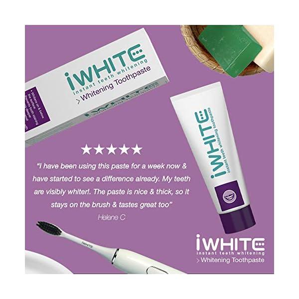 Pasta dental blanqueadora iWhite Instant - Blanqueamiento dental activo - Restauración del esmalte - Remineralización… 3