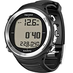 The same performance you've come to expect in the popular d4i scuba computer is now available in a version dedicated solely for freediving. the Suunto D4f Freediving Computer displays present and maximum depth of your dives, and logs them in ...