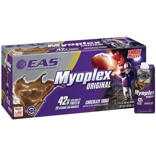Myoplex Original Chocolate Fudge - 12/17oz - CASE PACK OF 4 by Myoplex