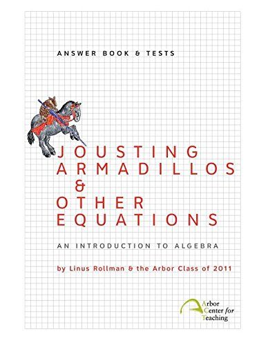 Jousting Armadillos & Other Equations: Answer Book & Tests (Linus Org compare prices)