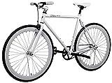 AeroFix Lunar 50cm Fixed Gear Single Speed Urban Fixie Road Bike