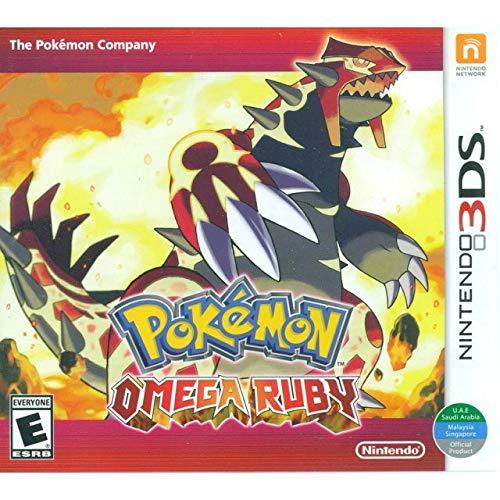 Pokemon Omega Ruby - World Edition, 3DS