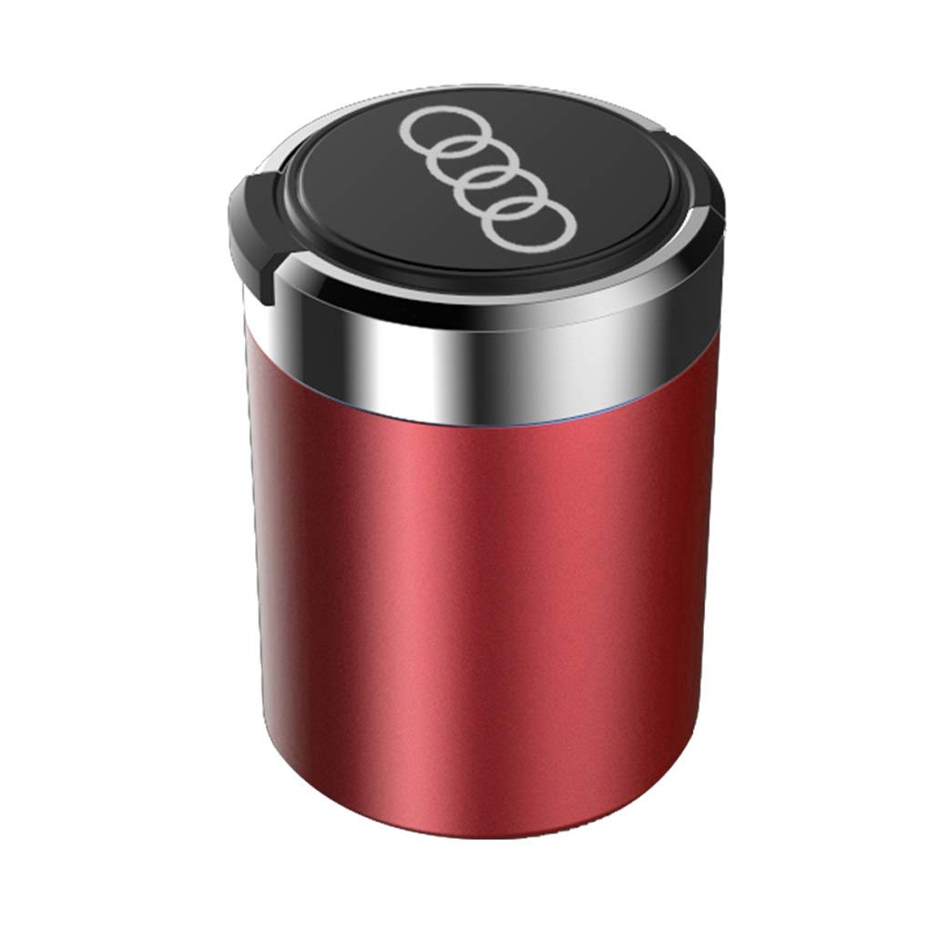 color : D Cambiar Audi coche cubierta especial cenicero luz LED Car ashtray