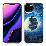 DISNEY COLLECTION UV Printing TPU Case iPhone 11 Pro Max 6.5 Inch Peter Pan Flying Ship