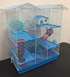 5 Floor Large Twin Towner Large Habitat Syrian Hamster Rodent Gerbil Mouse Mice Rat Wire Animal Cage