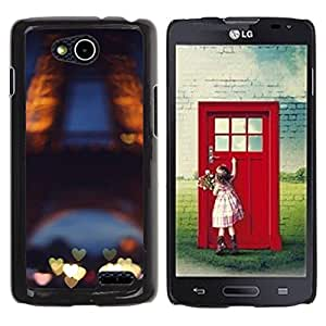 Be Good Phone Accessory // Dura Cáscara cubierta Protectora Caso Carcasa Funda de Protección para LG OPTIMUS L90 / D415 // Love Paris France Eifel Tower Tour