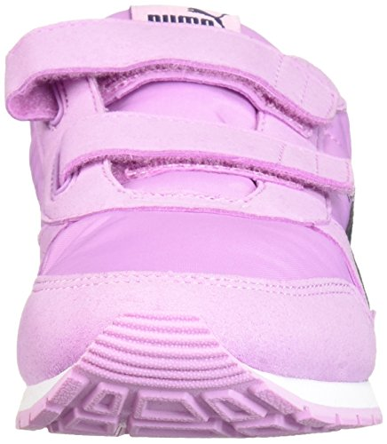 PUMA Unisex-Kids ST Runner NL Velcro Sneaker, Orchid-Peacoat, 2 M US Little Kid by PUMA (Image #4)
