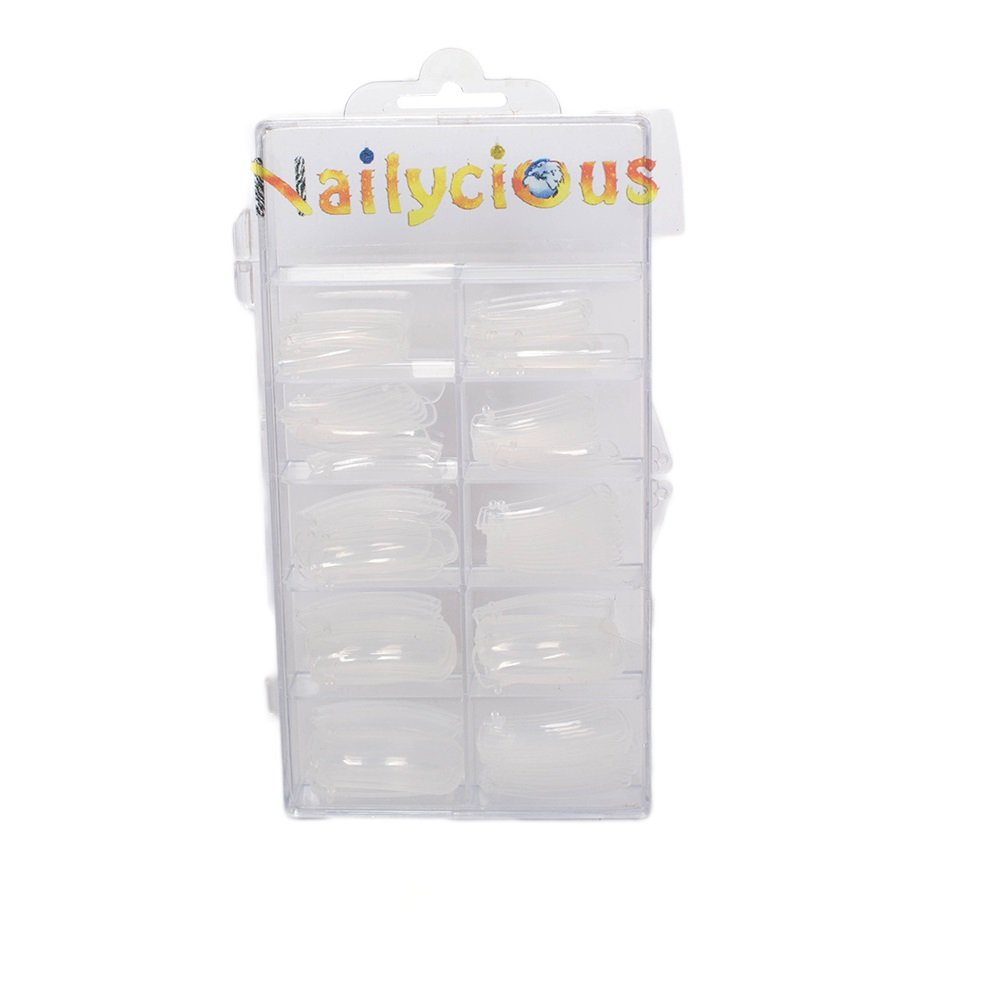 Dual System Nail Forms For Perfect Acrylic Nail Sculpting 120 pieces Per Box Nailycious Ltd