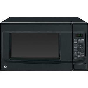 """GE JES1460DSBB 22"""" 1.4 cu. ft. Capacity Countertop Microwave in Black"""