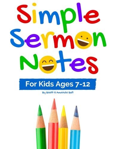 Price comparison product image Simple Sermon Notes: For Kids Ages 7-12