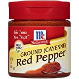 McCormick Ground (Cayenne) Red Pepper, 1 oz (Pack of 6)