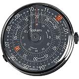 klokers(クロッカーズ) KLOK-01-D8 本体単品 時計 ブラック 日本100個限定(ドットはブラック)[正規輸入品]