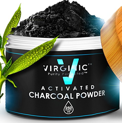 Activated Charcoal Powder For Teeth 3 OZ Natural Whitening Best Dental Whitener Above Organic Face Mask Black And White Smile Odor Absorber Toothpaste Coconut Tooth Kit Toothbrush Vegan Pure Bulk