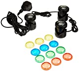 Jebao LED 3-Light Set with Transformer and 16' Cord