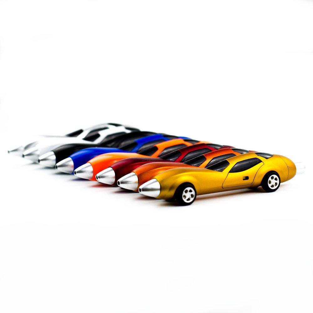 Lbxgap 6PCS Creative Racing Car Ballpoint Pen,Novelty Auto Ballpoint Pen Super Fashion Cool Racing Car Pen School Office Supplies School Stationery for Students, Kids, Children by Pshine (Image #2)