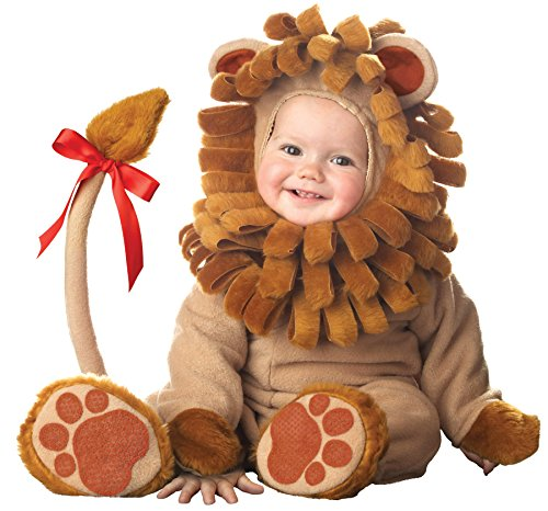 [UHC Baby's Lil Lion Lil Characters Infant Fancy Dress Child Halloween Costume, 6-12M] (Lion Newborn Costumes)