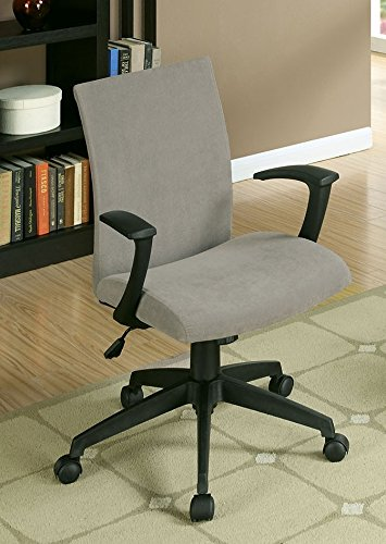 Furniture of America CM-FC635GY Crofter Gray Chairs - Home Office Desks