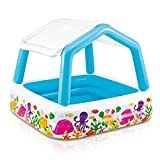 NEW! Spring & Summer Toys, Kids Outdoor Yard Fun Swimming Pool Party Toy, Intex Sun Shade Inflatable Pool - Size 5.25ft x 5.25ft