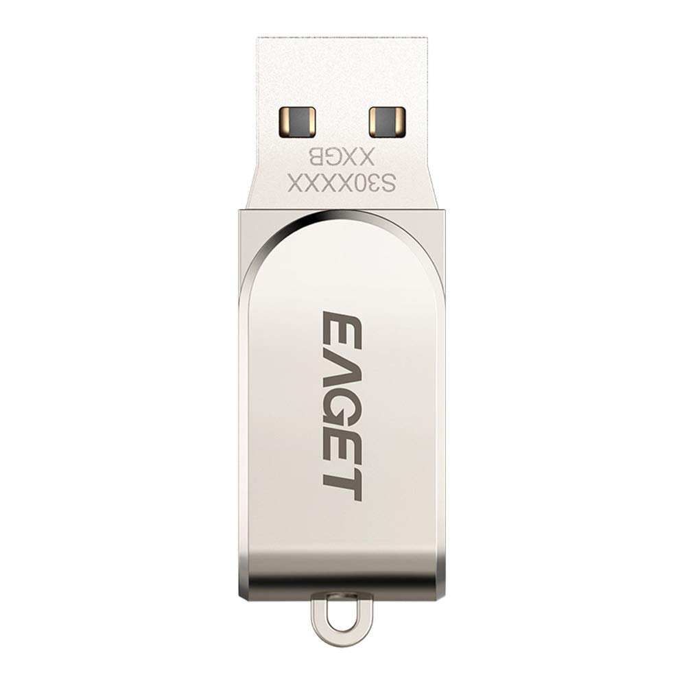 Eaget S30 USB 3.0 Flash Drive USB Pen Drive Metal Mini Pendrive USB Key Flash Memory Stick (64GB) by Eaget (Image #3)