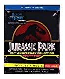 Jurassic Park 25th Anniversary Collection (Blu ray + HD Digital) 4 Movies