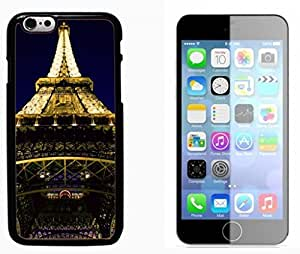 Popular Designed Paris Eiffel Tower Hard Plastic and Aluminum Back Case FOR Apple iPhone 6 6G 4.7 BY XINCASE