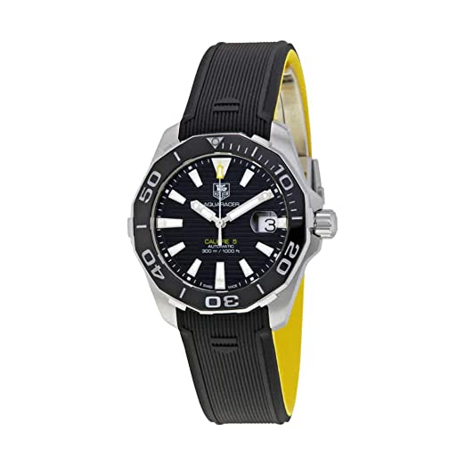 TAG Heuer Aquaracer Automático Mens Reloj way211 a. ft6068: Amazon.es: Relojes