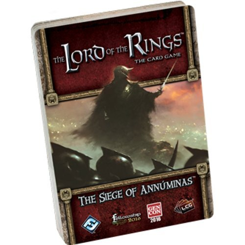 (Fantasy Flight Games Lord The Rings LCG: The Siege Annúminas Standalone Quest)