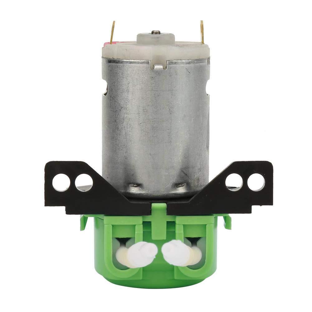an/álisis bioqu/ímico Bomba perist/áltica bomba de dosis DC6V Bomba perist/áltica l/íquida de micro agua ampliamente utilizada en experimentos biotecnolog/ía 2 * 4 mm Verde