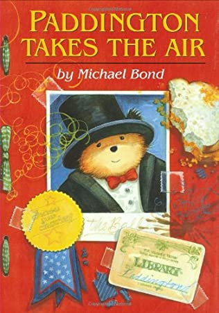 book cover of Paddington Takes the Air