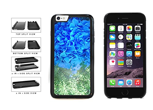 BleuReign(TM) Blue Pretty Hydrangeas 2-Piece Dual Layer Phone Case Back Cover For Apple iPhone 6 6s (4.7 Inches Screen)
