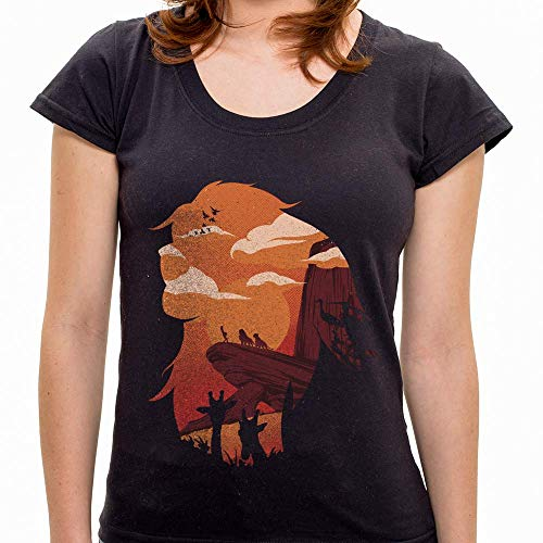 Camiseta Camiseta Rei Da Selva - Feminino - Camiseta Rei Da Selva - Feminino - P