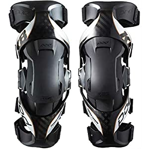 Pod K8013-169-SM Carbon/Copper Sm Pair Knee & Shin Protection