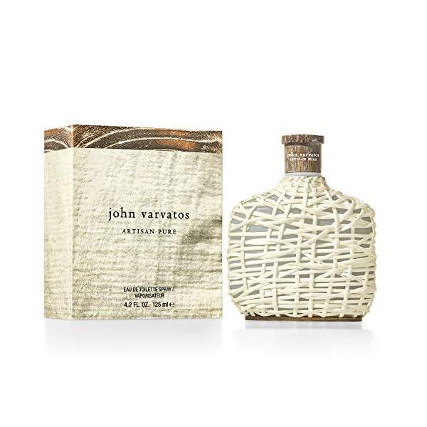 John Varvatos Artisan Pure – Eau de Toilette Homme Vaporisateur – Senteur Hespéridée & Boisée
