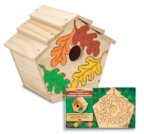 Melissa Doug Build Your Own Wooden Birdhouse product image