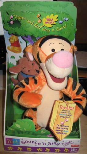 Mattel Bounce 'N Sing Tigger and Roo
