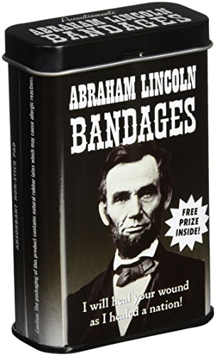 Accoutrements Abraham Lincoln Bandages (Bacon Birthday Party Supplies)