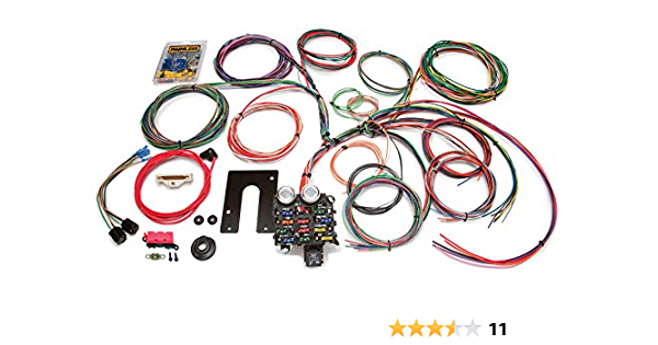 amazon.com: painless wire 10105 wiring harness with firewall grommet for  jeep cj: automotive  amazon.com