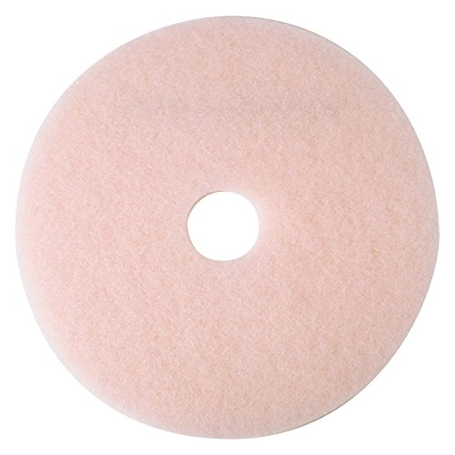 3M 3600 Pink 27-Inch by 1/4-Inch Eraser Burnish Pad (5 per Case) from 3M