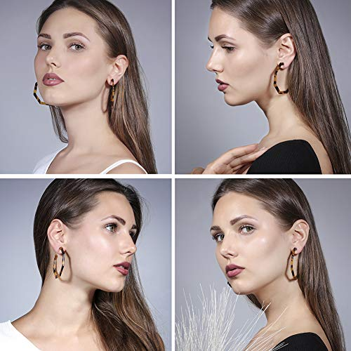 Buy tortoiseshell hoop earrings