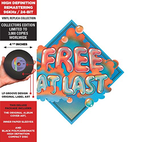 Free - Free At Last - Cardboard Sleeve - High-Definition Cd Deluxe Vinyl Replica + 5 Bonus Tracks - Import - Zortam Music