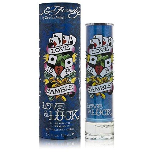 Ed Hardy Love & Luck for Men 3.4 oz 100 ml EDT Spray by Christian Audigier