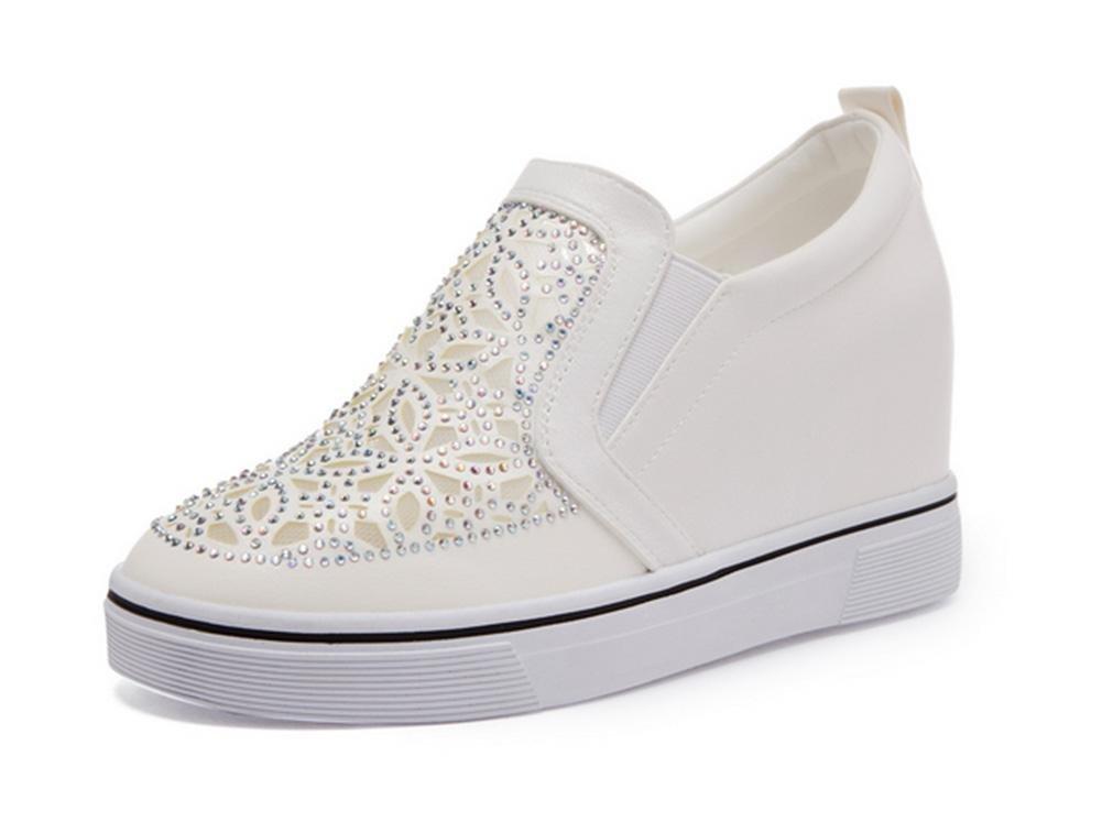 Mme de Spring chaussures B07GLDP7FN ascenseur CN35 pente muffin avec des chaussures de diamant, chaussures de sport chaussures paresseux , US5.5/ EU35/ UK3.5/ CN35 - 0ec54d3 - piero.space