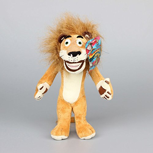 Mario Toad Costume Toddler (Madagascar Lion Alex 10 Inch Toddler Stuffed Plush Kids Toys)