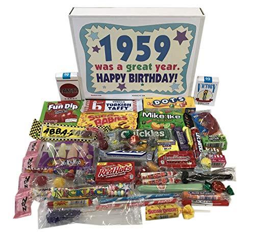Woodstock Candy ~ 1959 60th Birthday Gift Box
