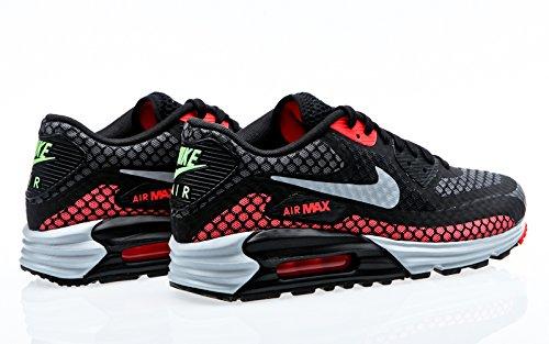 Nike Air Max Lunar90 Breeze, black silver hot lava viper