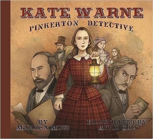 Cover art for KATE WARNE, PINKERTON DETECTIVE