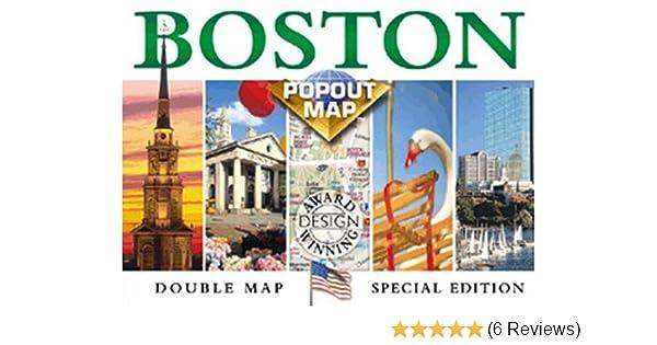 Boston Popout Map: Greater & Downtown Boston, Beacon Hill ...