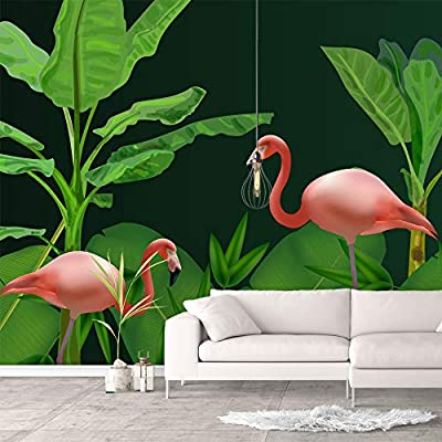 Gorgeous Creative Design, That You Will Love, Wall Murals for Bedroom Green Plants Animals Removable Wallpaper Peel and Stick Wall Stickers