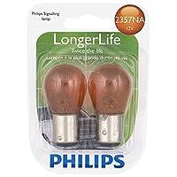 Philips 2357NA LongerLife bombilla en miniatura, paquete de 2