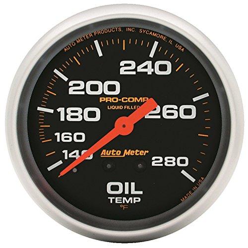 "AUTO METER 5444 Pro-Comp 2-5/8"" Electric Pyrometer (0-1600 Degree F, 66.7mm)"
